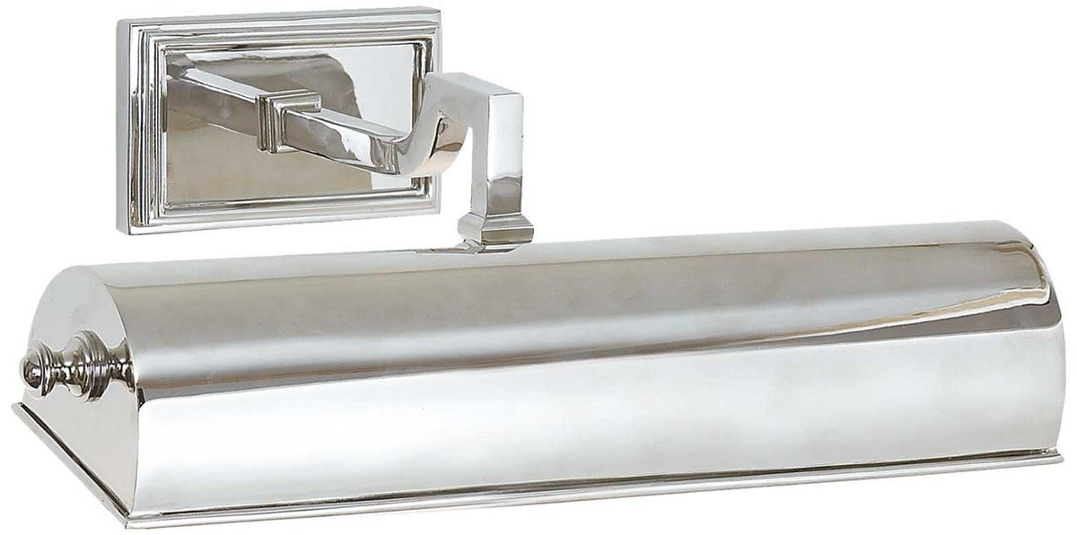 Alexa hampton visual comfort   co. dean picture one light large polished nickel 1200 xxx q85