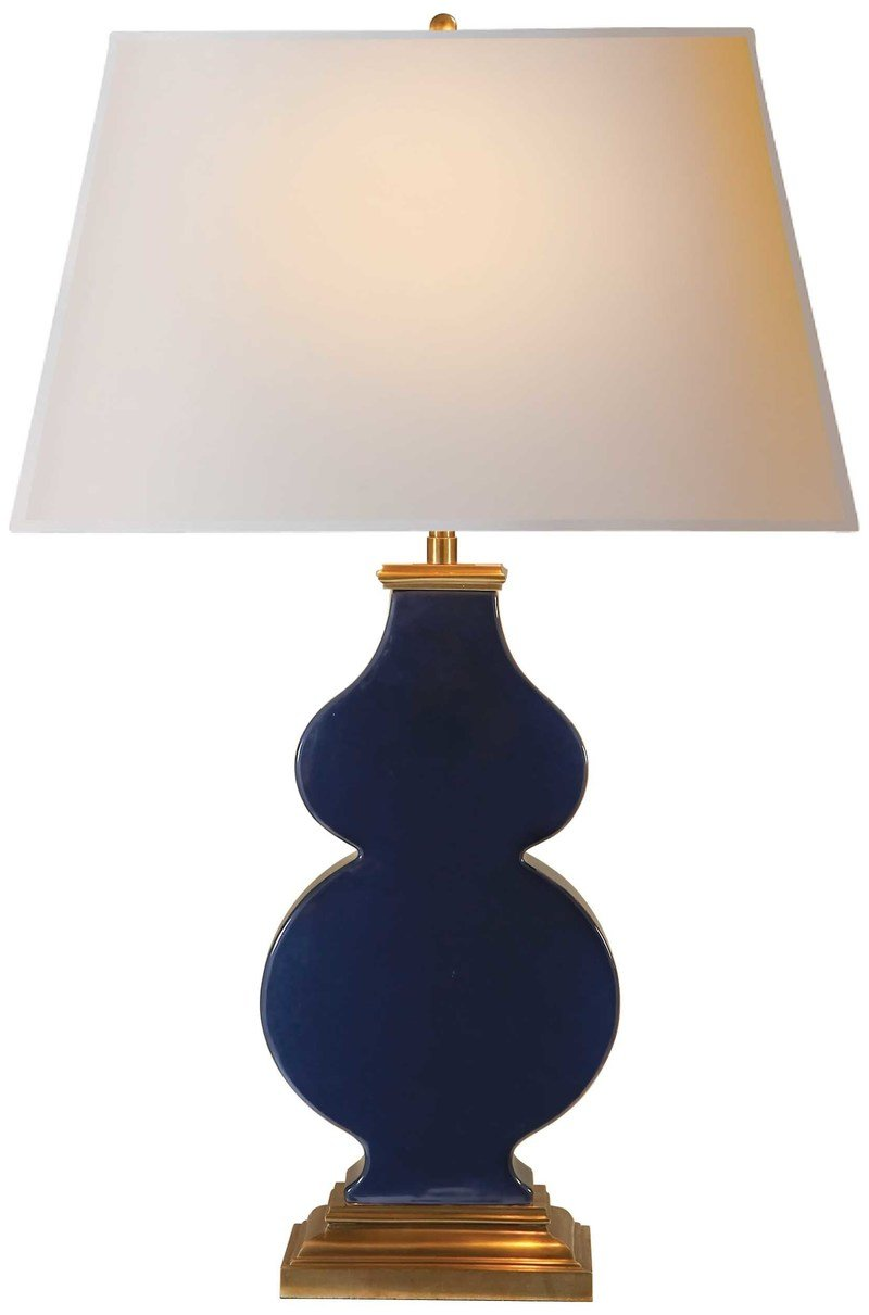 Alexa hampton visual comfort   co. anita table lamp midnight blue porcelain 800 xxx q85