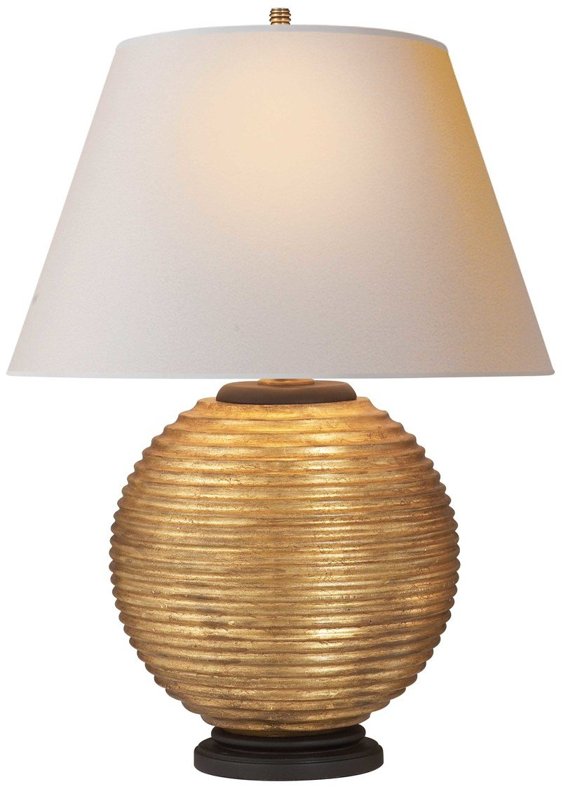 Alexa hampton visual comfort   co. hugo table lamp gilded wood 800 xxx q85