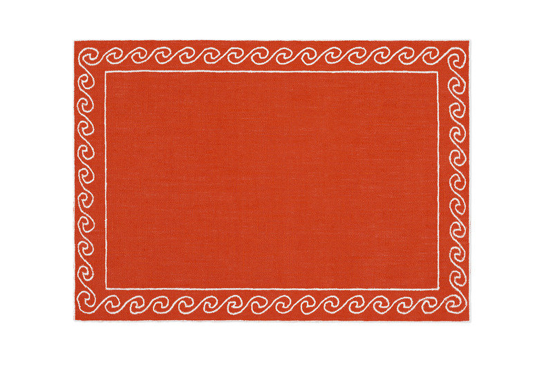 Alexa hampton la gallina matta kent placemat orange 800 xxx q85